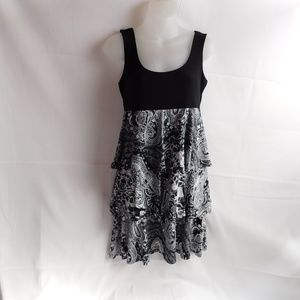 Studio One Womens Dress Size 6 Black Sleeveless